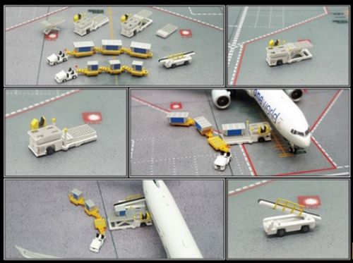 Fantasy Wings 1/400 Cargo Ground Service Equipment