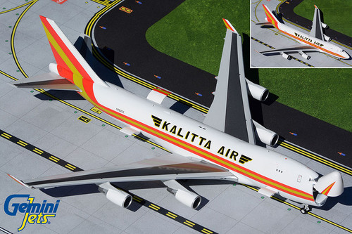 Gemini200 1:200 Kalitta Air 747-400F (Interactive Series)