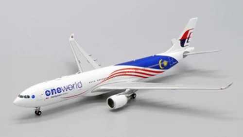JC400 1:400 Malaysia Airlines A330-300 One World
