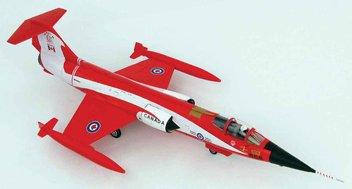 "Hobbymaster 1:72 Lockheed F-104 Starfighter ""Coke Bottle"" 104868, 421 Squadron, CAF, 1981 HA1037"