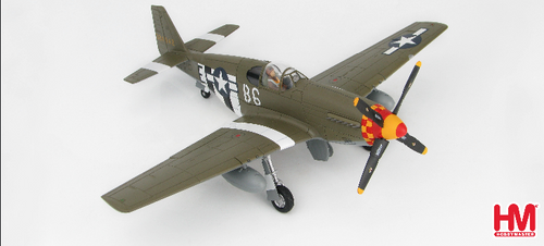 "Hobbymaster 1:72 P-51B Mustang ""Blackpool Bat"" 324842, 363rd FS/357 FG, WWII HA8512"