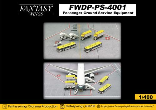 Fantasy Wings 1/400 Passenger Ground Service Equipment