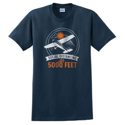 Social Distancing at 5000FT T-Shirt