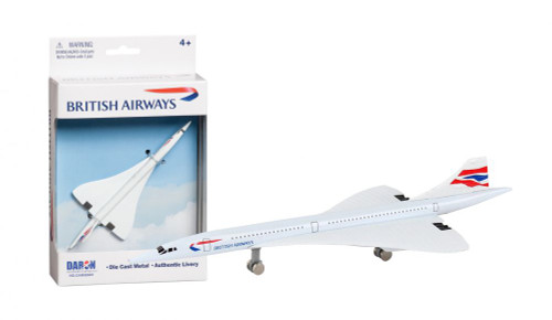 British Airways Concorde Single Plane
