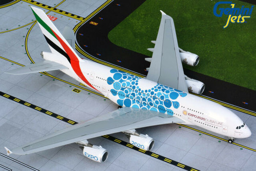 Gemini200 1:200 Emirates A380-800 (Blue Expo 2020)