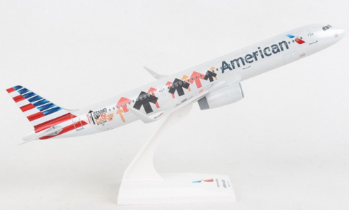 """Skymarks American Airlines A321 """"Stand Up"""" Livery"""