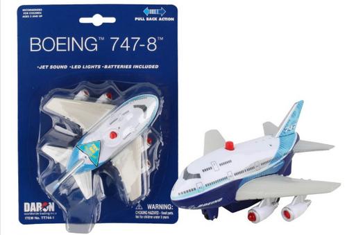 Boeing 747 Pullback W/Light & Sound