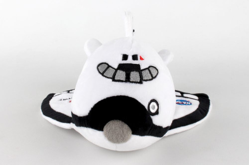 Space Shuttle Stuffed Toy w/Sound