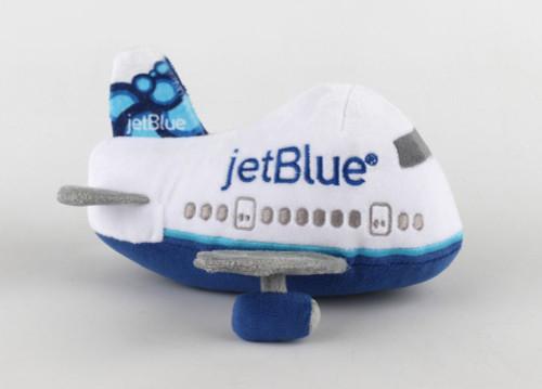 Jet Blue Stuffed Toy w/Sound