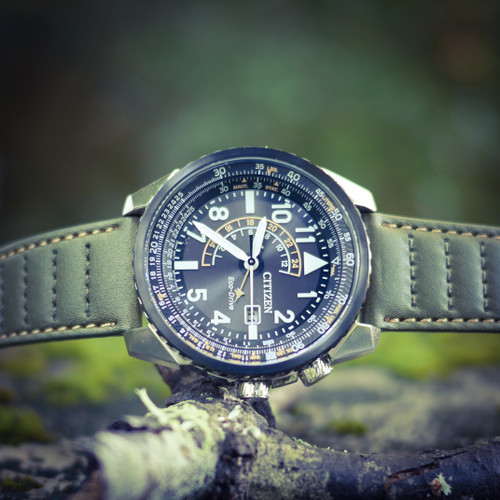 Citizen Promaster Nighthawk Watch - Olive Green