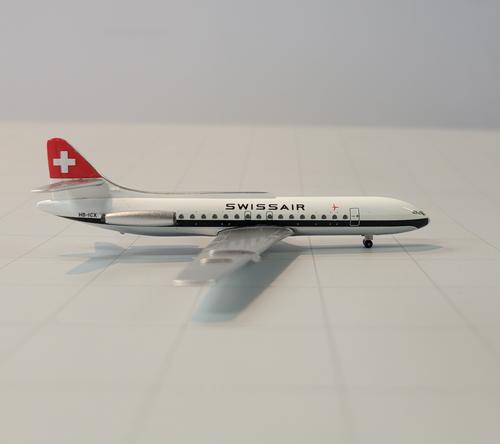 Aeroclassics 1:400 Swissair SE-210 Caravelle