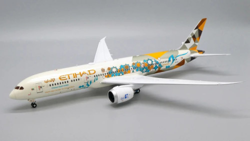 "JC200 1:200 Etihad 787-9 ""Adnoc Livery"""