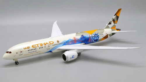 "JC200 1:200 Etihad 787-9 ""Choose the USA"""