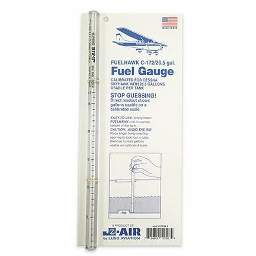 Fuelhawks Fuel Gauge - C-172 26.5 Gallon