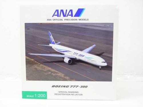 ANA Official Precision Models 1:200 ANA 777-300 Wave Livery