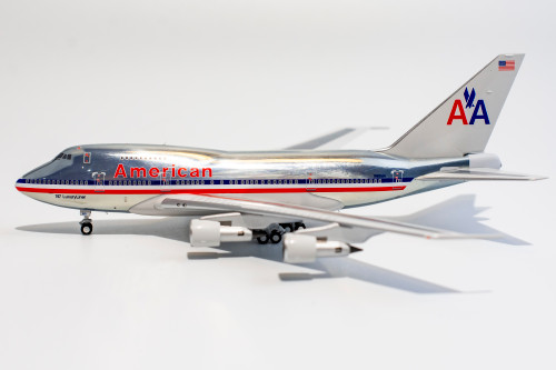 """NG Models American Airlines 747SP """"747 Luxury Liner Titles"""""""