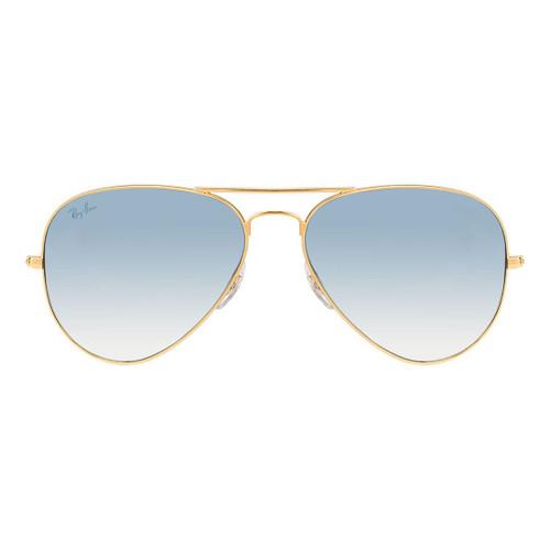 Ray-Ban Aviator Gold Frame Blue Gradient Sunglasses