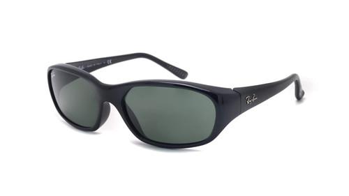Ray-Ban Daddy-O II Black Frame Green Classic Sunglasses