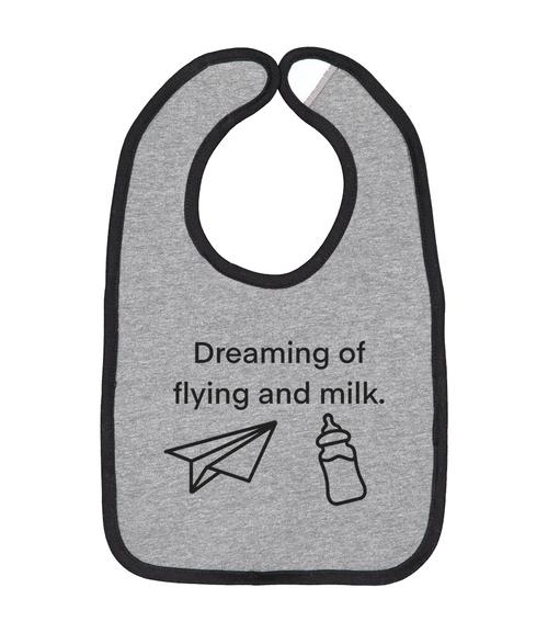 Dreaming of Flying Bib