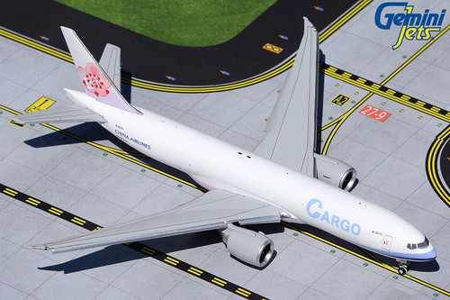 Gemini Jets 1:400 China Airlines Cargo 777F Flaps Down