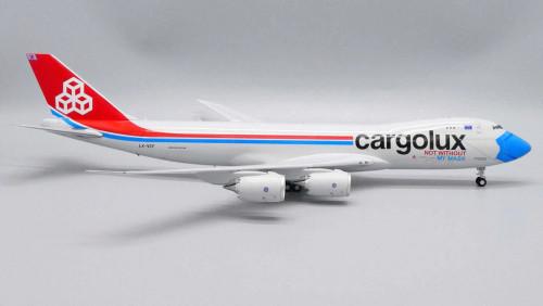 "JC200 1:200 Cargolux 747-8F ""Not Without My Mask"""