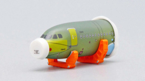 JC400 1:400 Airbus A320 Front Fuselage Sections Set