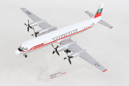 Herpa 1:200 Balkan Bulgarian IL-18