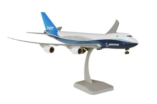 Hogan 1:200 Boeing House Livery 747-8F w/Gear
