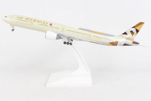 Skymarks 1:200 Etihad Airways 777-300 w/Gear