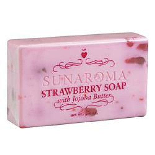 SOAP - STRAWBERRY with Jojoba Butter