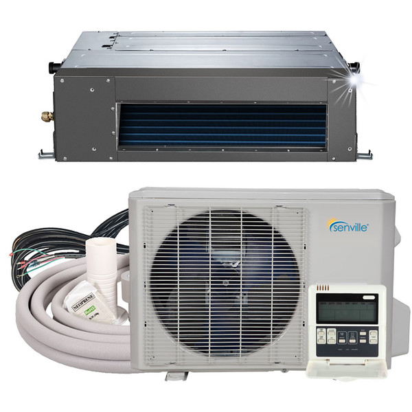 18000 BTU Concealed Duct Air Conditioner - Heat Pump - SENA/18HF/ID