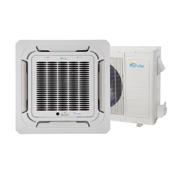 9000 BTU Ceiling Cassette Air Conditioner - Heat Pump - SENA/09HF/IC
