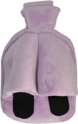 Cuddlesoft Hot Water Bottle Footwarmer; Lilac Fleece