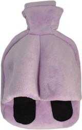 Cuddlesoft Hot Water Bottle Footwarmer; Lilac Fleece