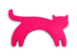 Pink Minina Cat Unscented Heatable Neck Warmer Pillow