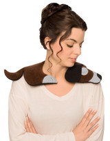 Bobby the Dog Unscented Heatable Neck Warmer Pillow