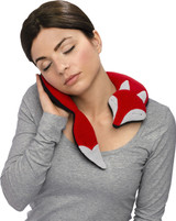 Noah Red Fox Unscented Heatable Neck Warmer Pillow
