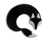 Black Noah Fox Unscented Heatable Neck Warmer Pillow