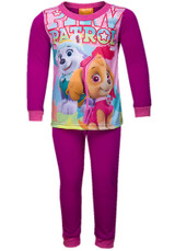 Girls Paw Patrol Character Long Pyjama Set: Purple