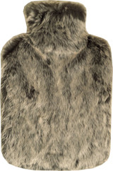 Arctic Fox Thick Faux Fur 2L Hot Water Bottle & Cover