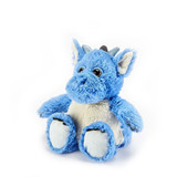 Warmies Cozy Plush Blue Horned Dragon Fully Microwavable Toy