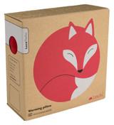 Luca the Fox Heatable Tummy & Body Warmer Pillow: Fire Packaging