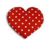 Warming Heart Heatable Tummy & Body Warmer Pillow: Polka Dot