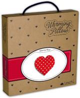 Warming Heart Heatable Tummy & Body Warmer Pillow: Polka Dot Packaging