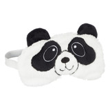 Panda 3D Novelty Fleece Cover Sleep Mask