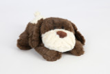 Warmsie Huggable Brown Dog Unscented Fully Microwavable Toy