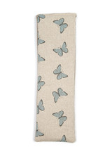 Lavender or Unscented Cotton & Fleece Wheat Bag: Blue Butterflies