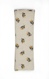 Bumble Bees 100% Natural Cotton & Fleece Wheat Bag