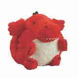 Cozytime Red Dragon Fluffy Faux Fur Giant Hand Warmer