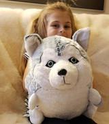 Cozytime Husky Fluffy Faux Fur Giant Hand Warmer